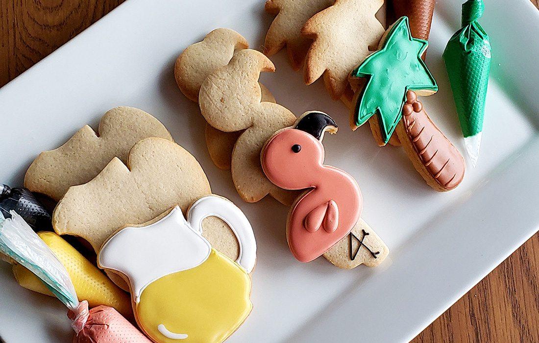 Royal icing cookie decorating kit