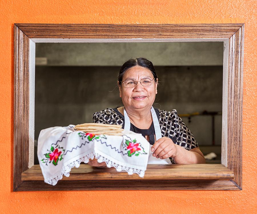 Maria Jimenez at La Michoacana.