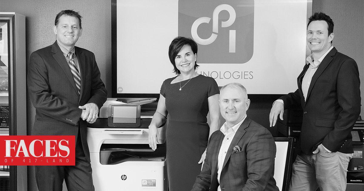 Rob Kassing, Heidi Crane, Erik Crane, Jesse Watson of CPI Technologies in Springfield, MO
