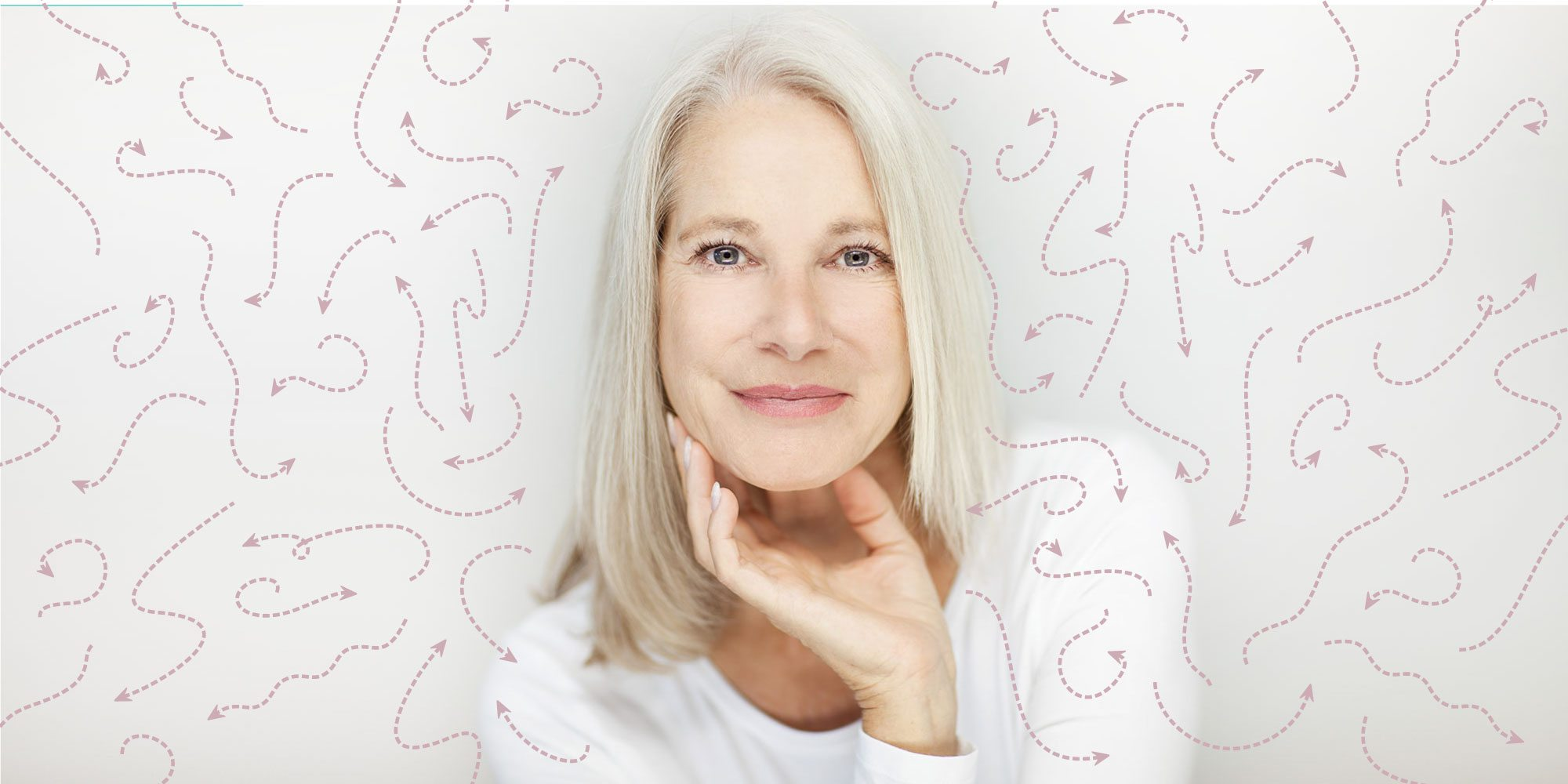 Skincare older woman