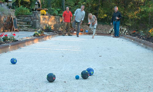 Courting a New Sport: Bocce Ball