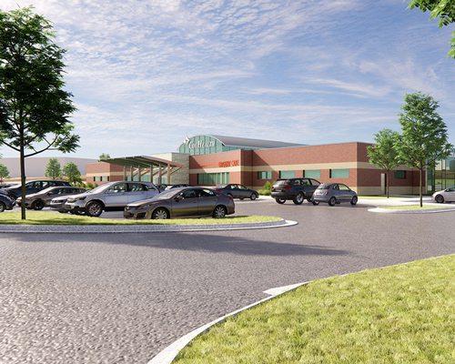 CoxHealth Super Clinic render