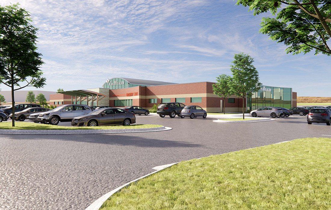 Render of CoxHealth Super Clinic design