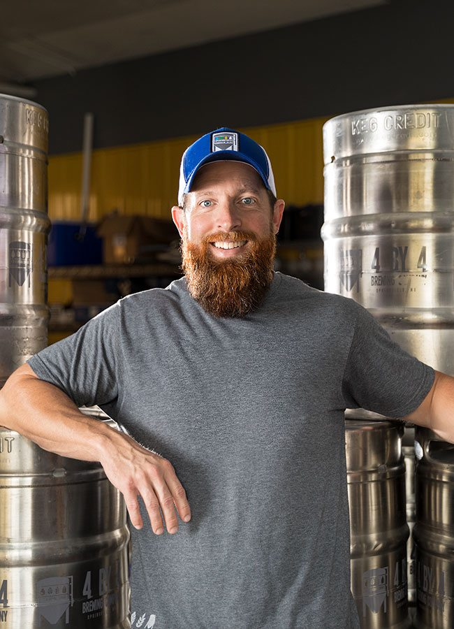 Chris Shaffer Head Brewer 4 By 4 Brewery Springfield MO