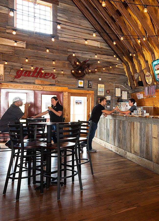 Piney River Brewing Company interior