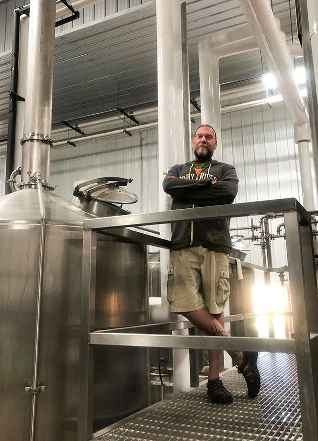 Piney River head brewer Matt Beaty Missouri