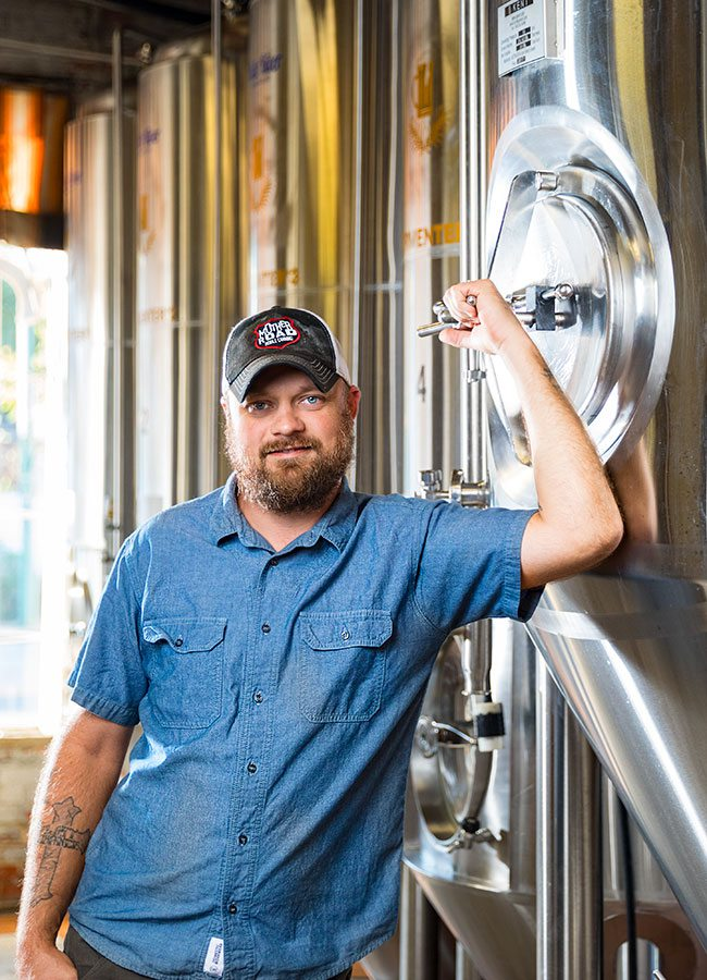 Stacey Uchtman White River Brewing head brewer Springfield MO