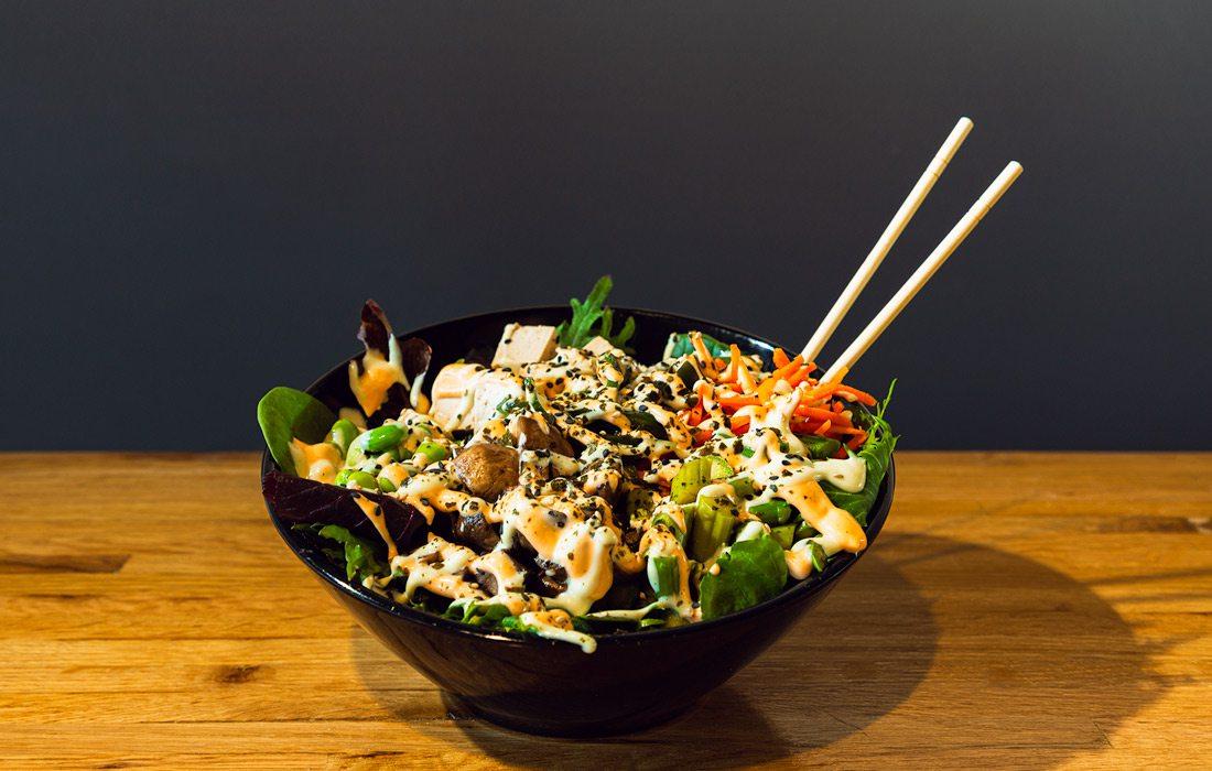 House-marinated Poke Bowl at Craft Sushi