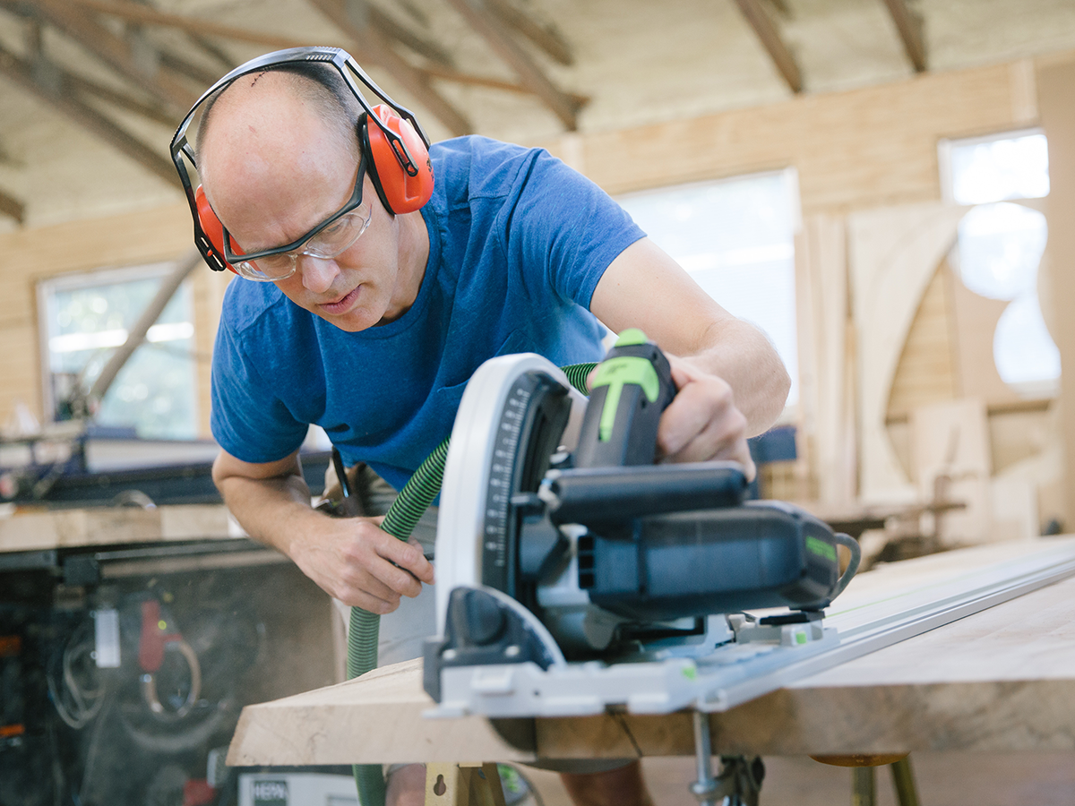 A Bank Loan Rejection Helped This 417-land Woodworker Hone His Craft