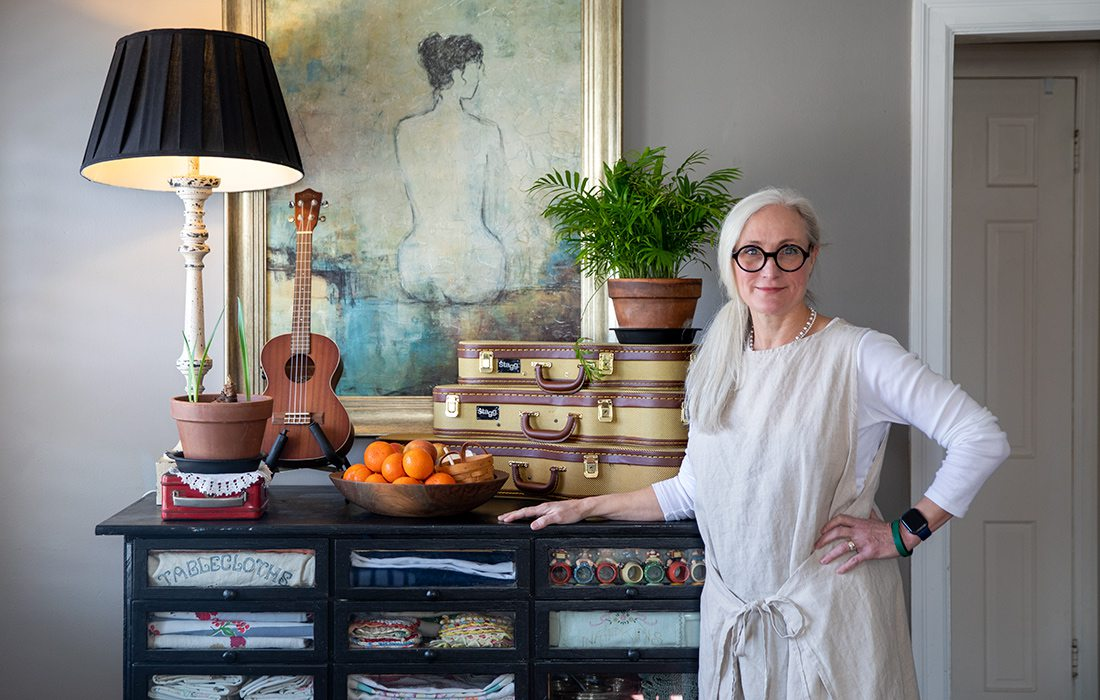 Crista Hogan in her Springfield, MO home