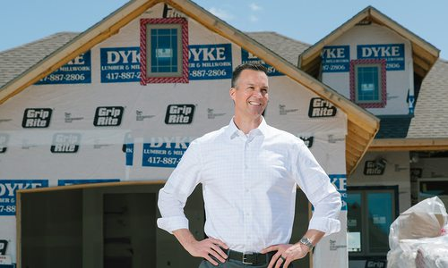 Mike Cronkhite of Cronkhite Homes in Springfield, MO