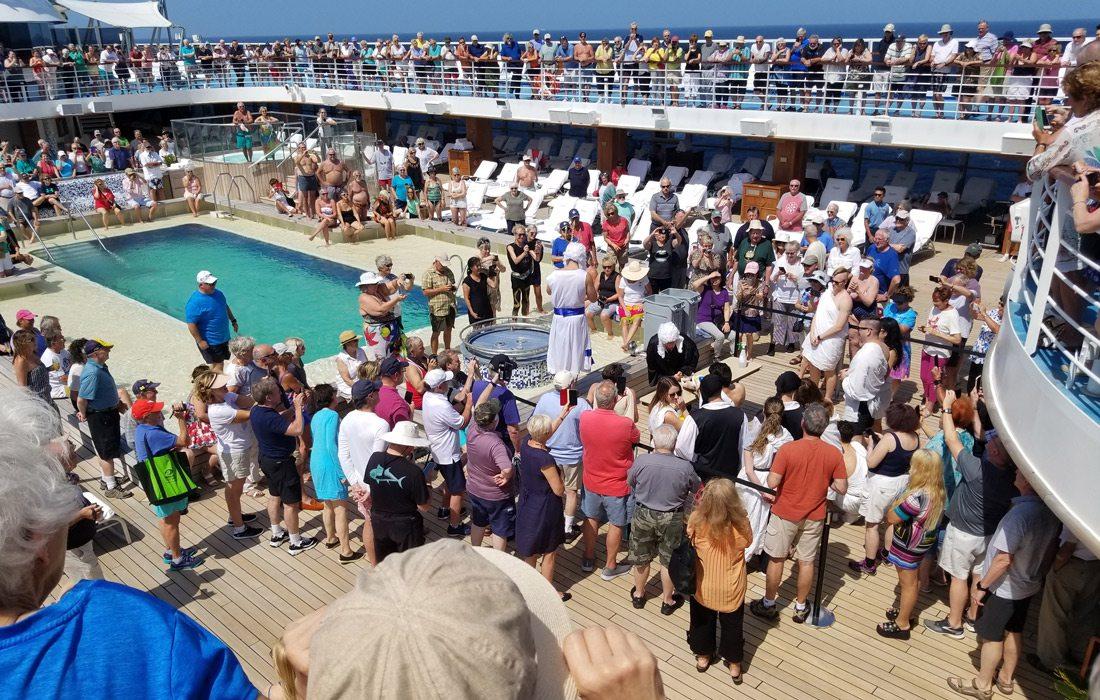 Photo taken by Joan Whitaker on cruise