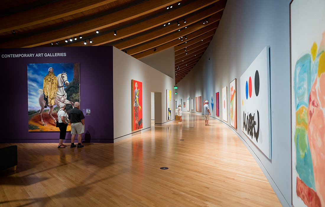 Crystal Bridges Museum of American Art in Bentonville AR