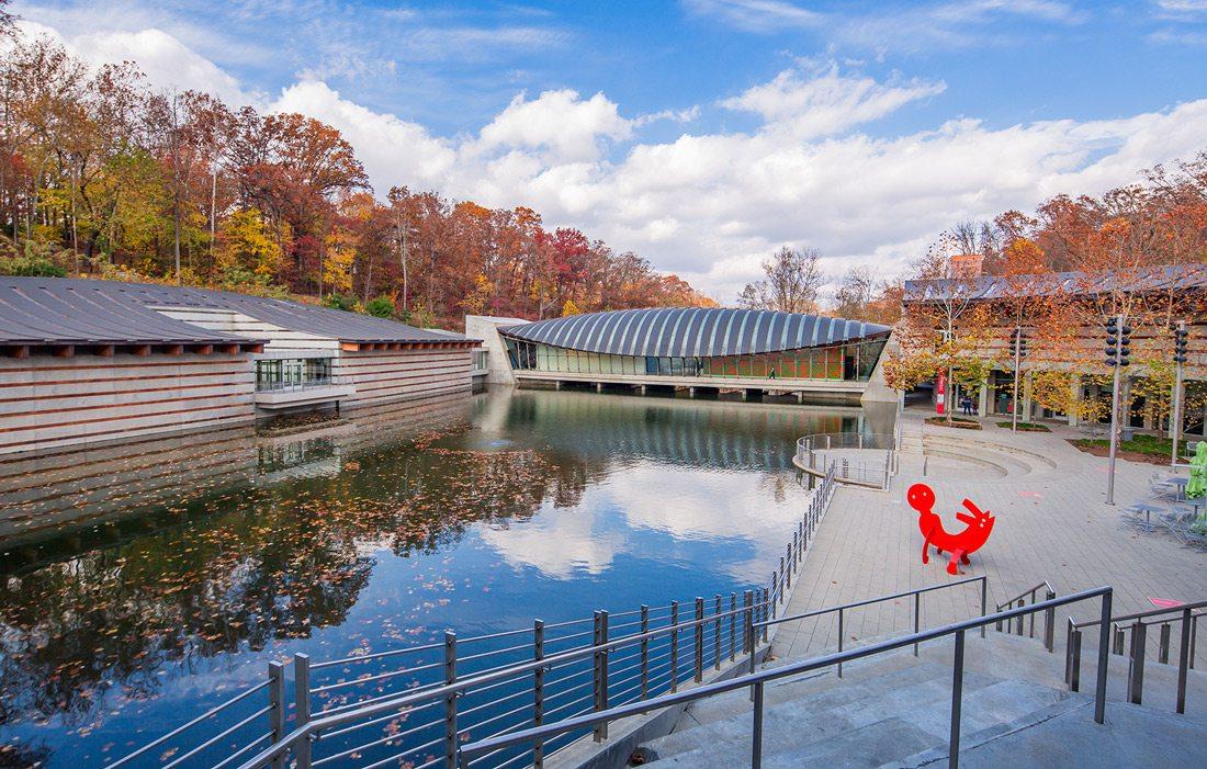 Crystal Bridges Museum of American Art in Bentonville, AR