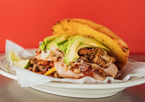 Cubana Torta from Tacos El Champu