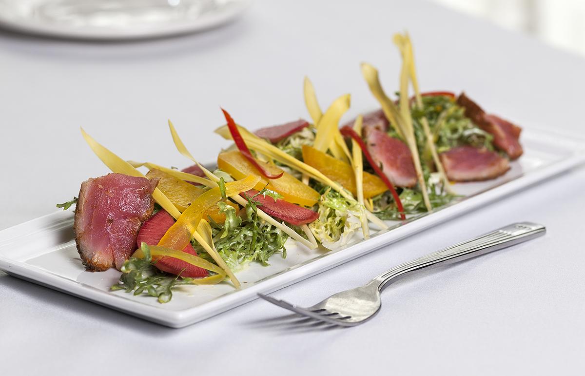 Cured Ahi Tuna Salad