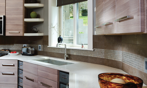 DIY Kitchen Splash