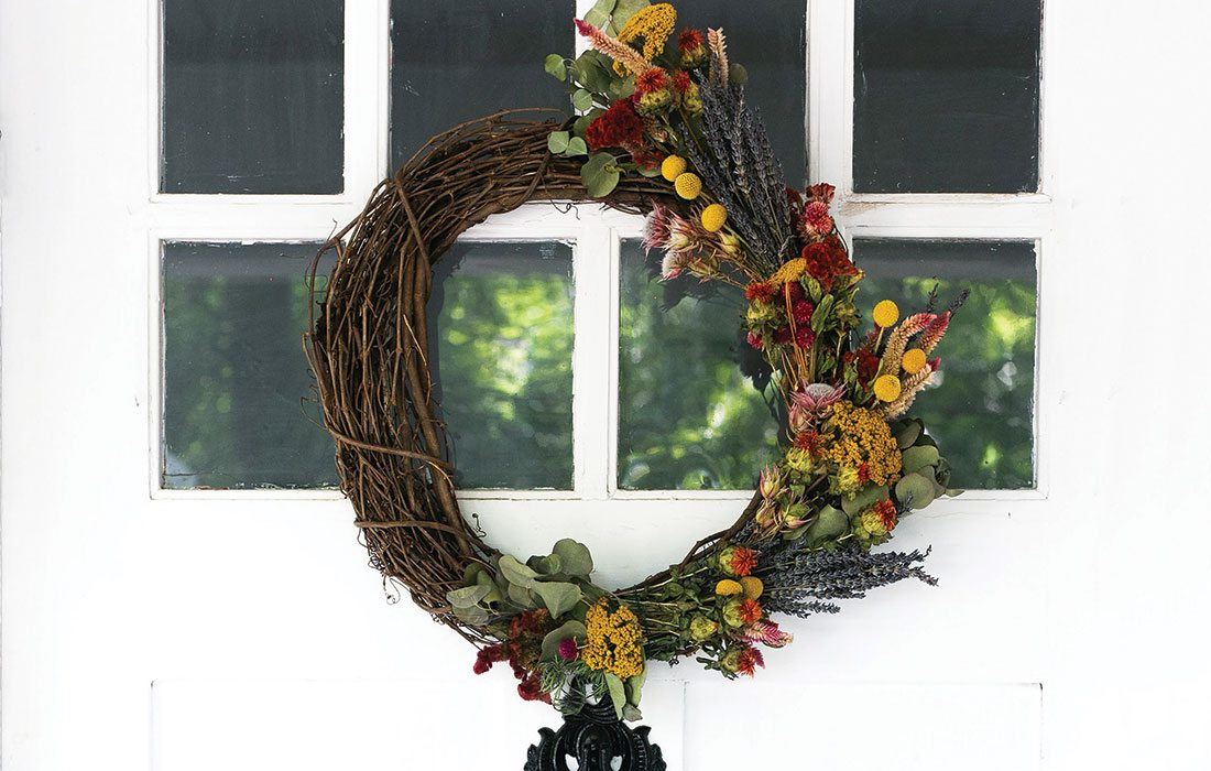 Diy Make Your Own Fall Wreath