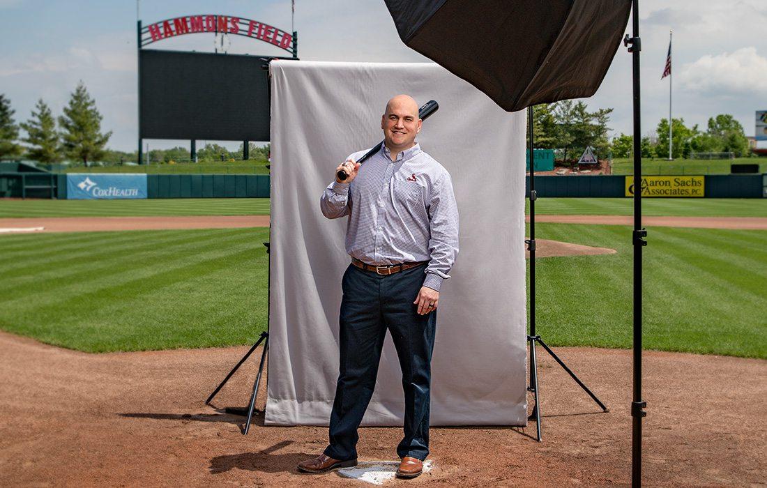 Dan Reiter of the Springfield Cardinals