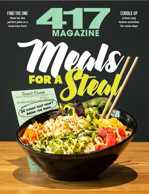 417 Magazine | Meals for a Steal | December 2019