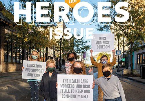 417 Magazine's December 2020 Cover