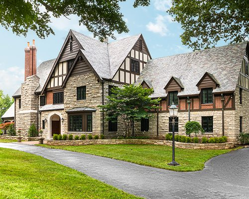 Maryam Mohammadkhani and Raffaele Pennella's Tudor Revival Home in the Delaware Neighborhood