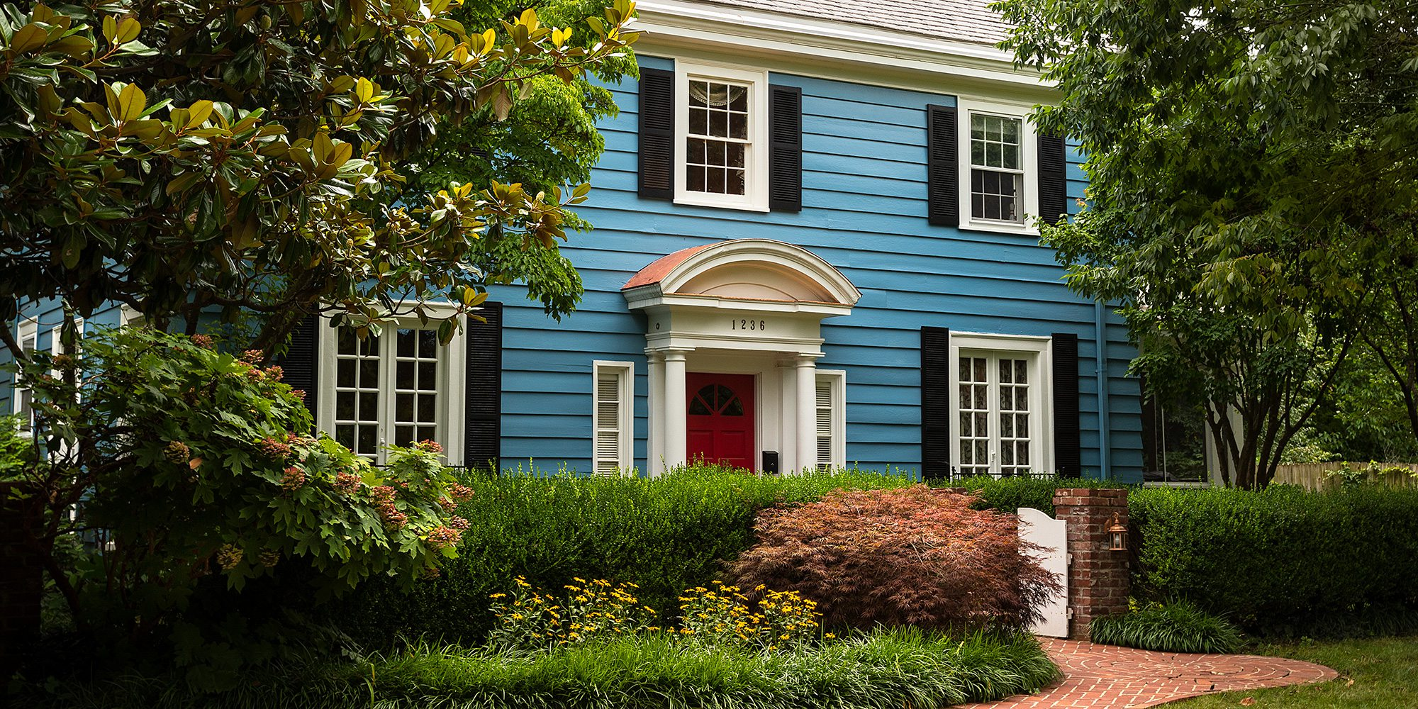 Meek's Cheerful Colonial in the in the Delaware Neighborhood in Springfield, MO