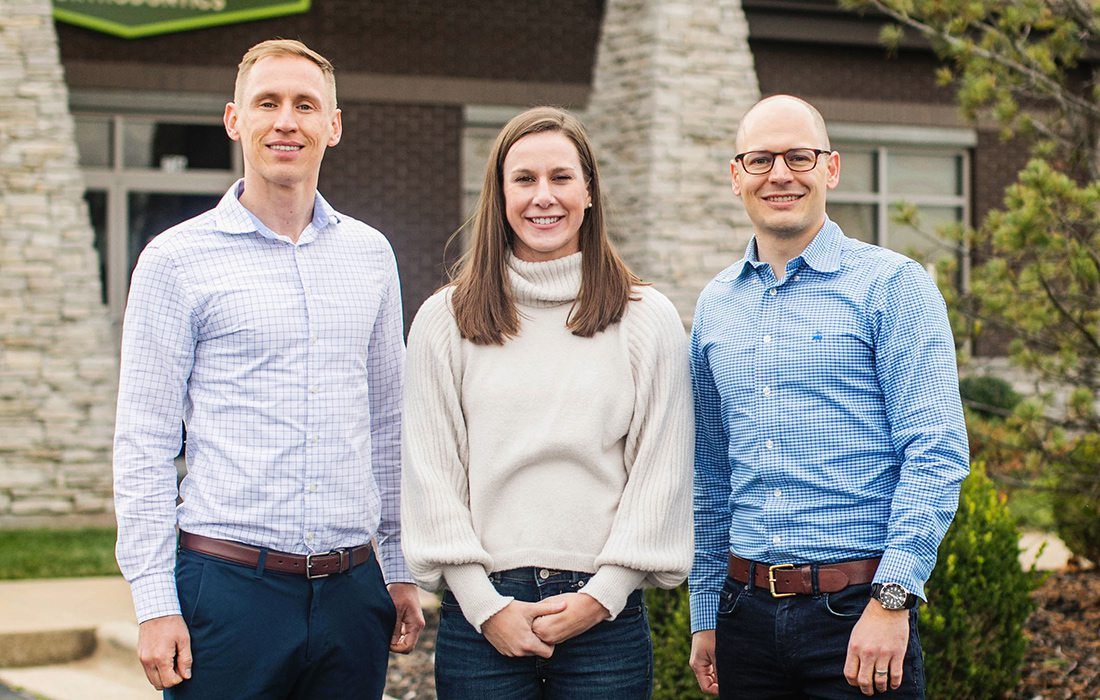 Dr. Thomas Gardner, Dr. Abby Boschert, Dr. Jesse Gardner of Expedition Pediatric Dentistry and Orthodontics in Springfield MO