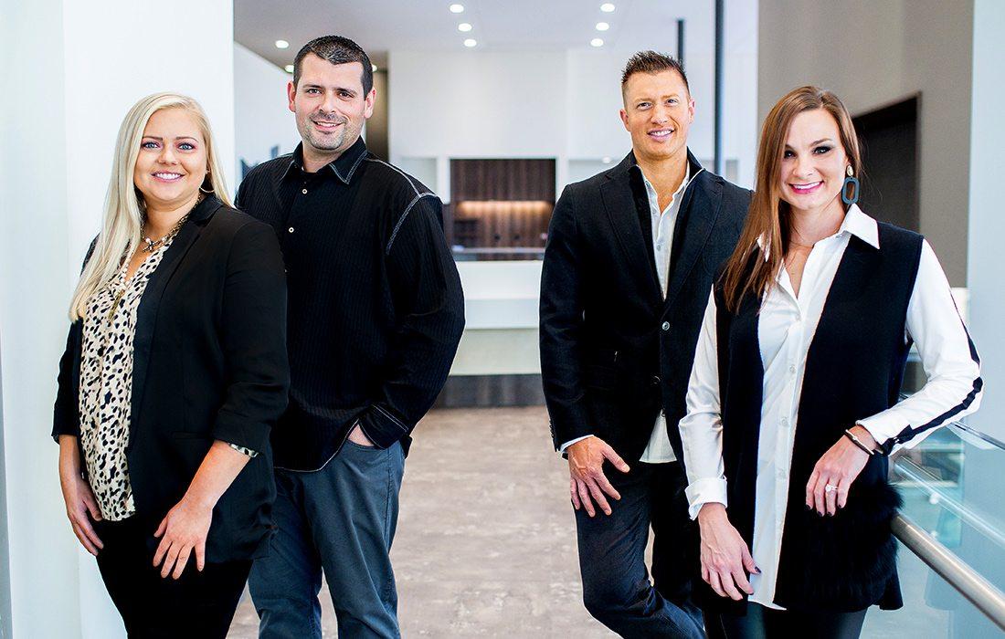 Dr. Taylor Jordan, Dr. Seth Gray, Dr. Grant Olson, Dr. Megan Westrich of Innovative Dental in Springfield, Missouri