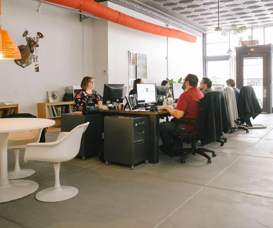 Departika's Office Space
