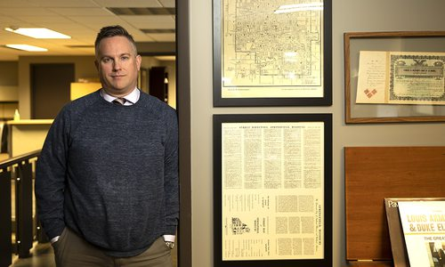 Derek Fraley, CEO of Systematic Savings Bank