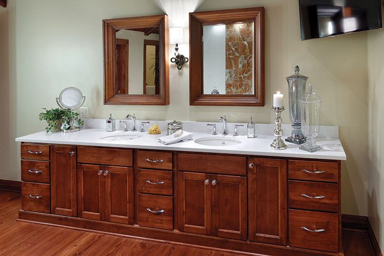 417 Home Design Awards 2015 - Bathroom Winner - Double Vanity