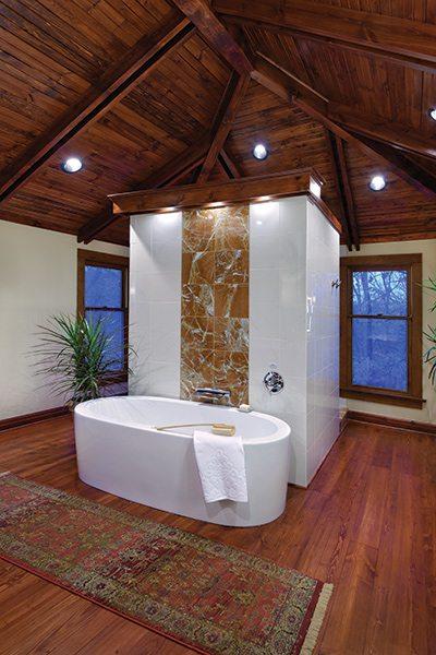 417 Home Design Awards 2015 - Bathroom Winner - Free Standing Tub