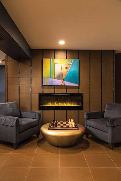 417 Home Design Awards 2015 - Family Room Winner: Hearth