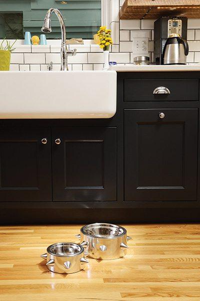 417 Home Design Awards 2015 - Kitchen Winner: Dog Bowls