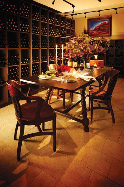 417 Home Design Awards 2015 - Whole Home Winner: Wine Cellar