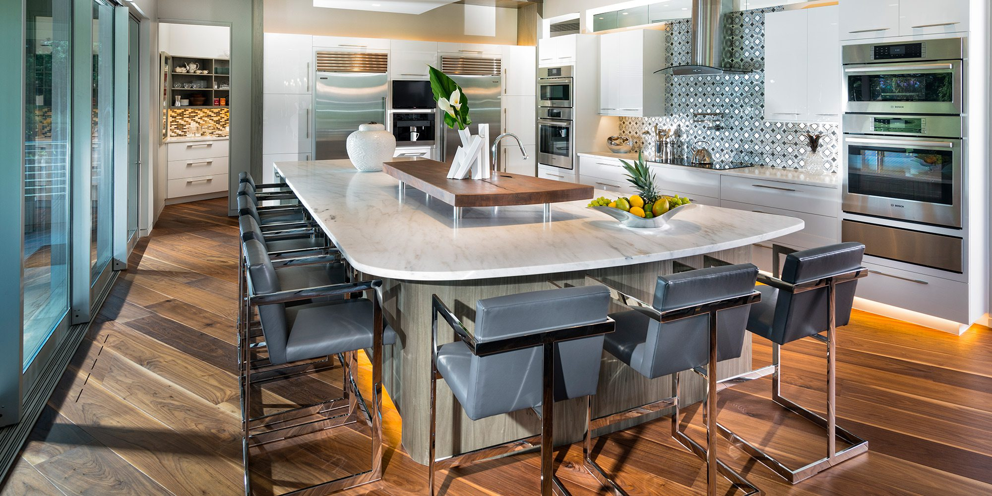 417 Home Design Awards 2019 Winner of Most Creative Use of Materials in a Kitchen by Obelisk Home Springfield MO