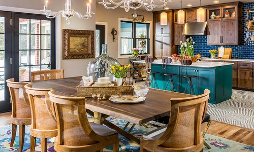 417 Home Design Awards 2020 Winner of Best Dining Area by Obelisk Home Springfield MO