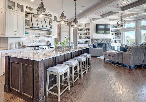 417 Home Design Awards 2020 Winner of Best Kitchen Design by Ellecor Springfield MO