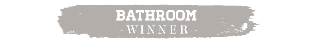 417 Home Design Awards 2015 - Bathroom Winner Text