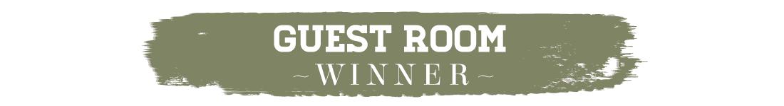 417 Home Design Awards 2015 - Guest Room Winner Text