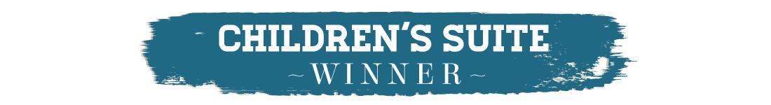 417 Home Design Awards 2015 - Children's Suite Winner Text
