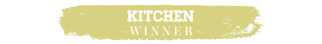 417 Home Design Awards 2015 - Kitchen Winner Text