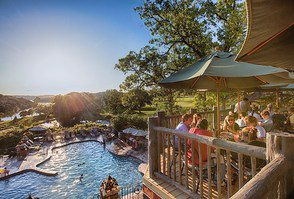Whether you wanting breakfast, lunch or dinner the Devil's Pool Restaurant at Big Cedar Lodge will offer a breathtaking view of Table Rock Lake.
