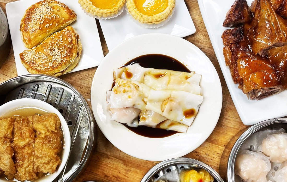 Dim sum dishes from Bo Lings in Kansas City