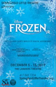 Audition for Disney's Frozen JR