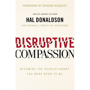 Hal Donaldson Disruptive Compassion Book Cover Square