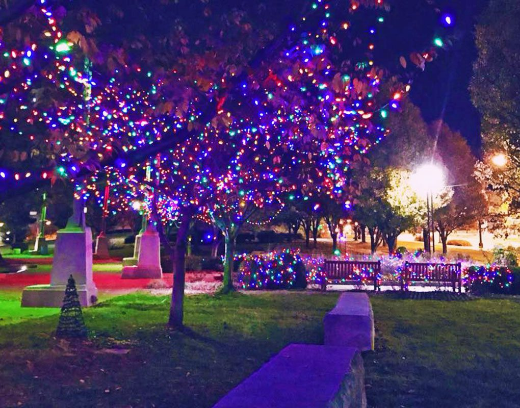 Festival of Lights in Downtown Springfield, MO