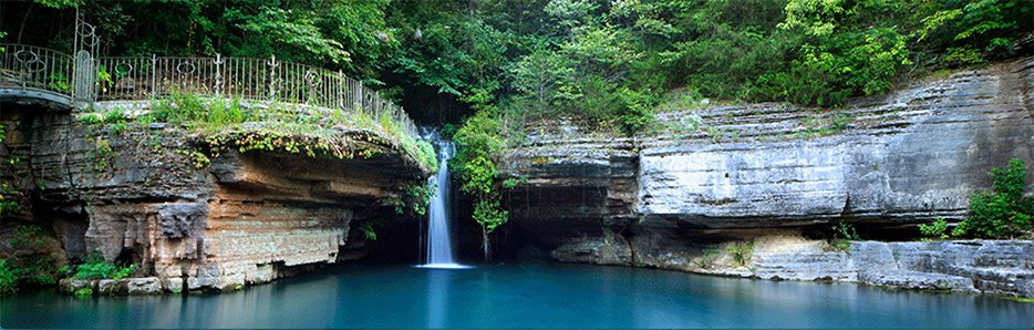 Dogwood Canyon in Lampe, MO.