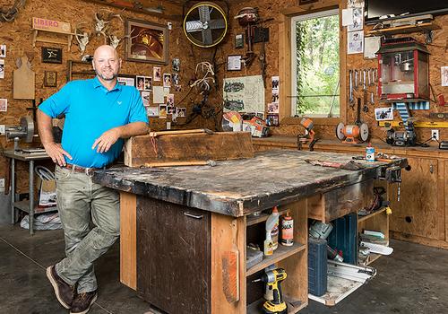 Peek Inside: Doug Pitts's Home